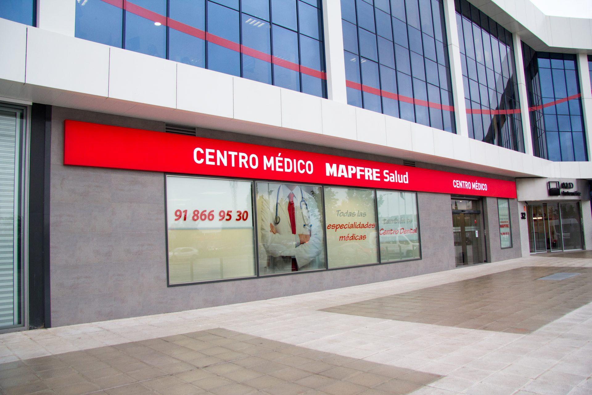 Fachada Centro Médico Mapfre Salud