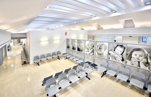 Sala de espera IHP Pediatría