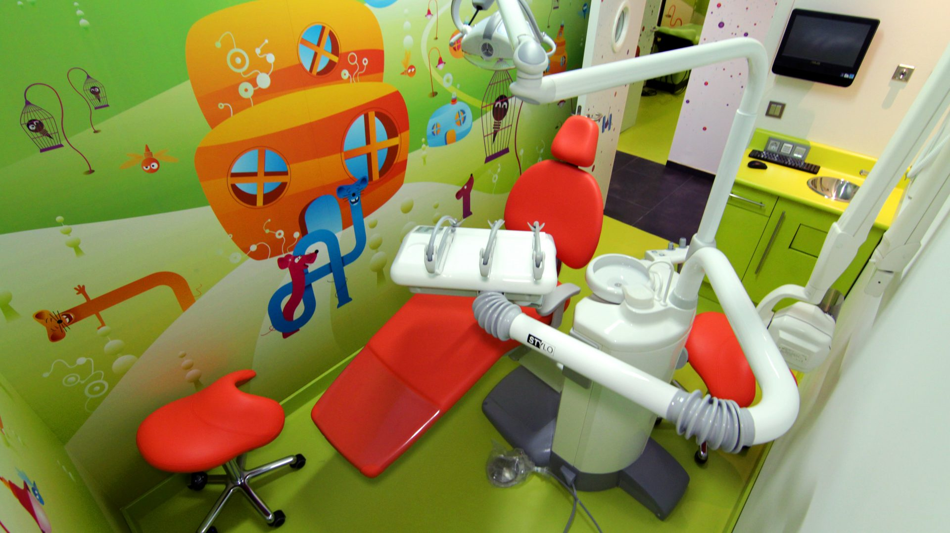 Box dental infantil