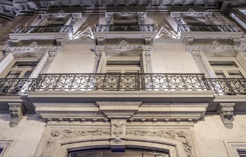 Balcones edificio singular