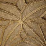 Bóveda rehabilitada en el santuario de la Iglesia de la Fuensanta
