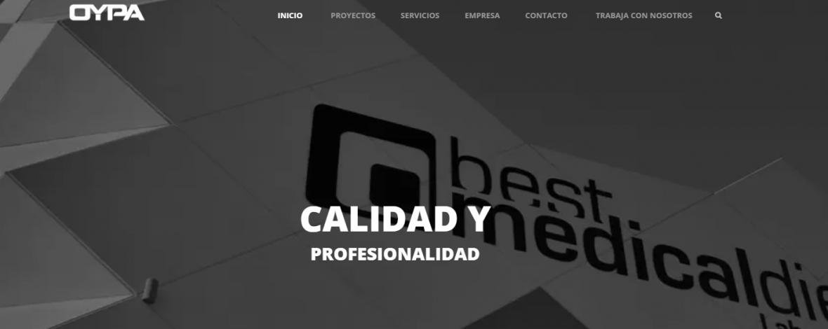 Nueva Web OYPA