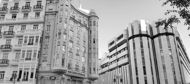Edificios del centro de Valencia, donde OYPA posee una sede territorial